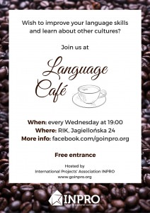 INPRO language cafe