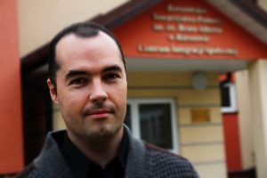 homeless shelter volunteer and writer in Rzeszow